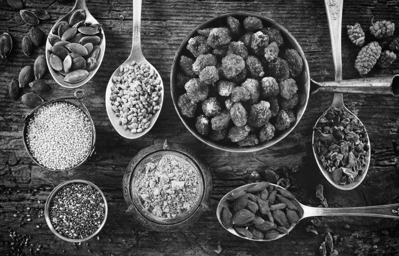 Super Foods z łąk i lasów